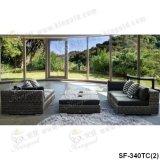 Insiemi esterni del sofà, mobilia del rattan del patio, insiemi del sofà del giardino (SF-340)