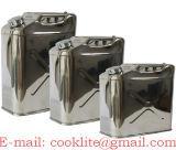 De Jerrycan/de Benzine van het roestvrij staal kan/van brandstof voorzien kan/Trommel olien