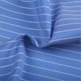 Tela de algodón teñida hilado tejida para las camisas