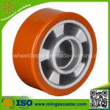 Moule en polyuréthane élastique sur roulette PU en aluminium pour roulette