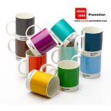 Promotional Ceramic Mug with Client Design (CM-003)