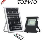 Lumière solaire de jardin de projecteur de l'aluminium SMD DEL