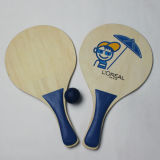 Hölzernes Beach Racket Ball Game Sets für Outdoor Sports (PT91691-4)