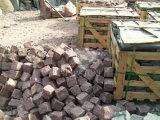 China Adoquín de granito gris, piedra cúbica, piedra de cubo, pavimentación con certificación Ce