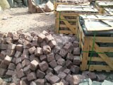 Ambiental de granito natural cayó piedra cúbica de guijarros o piedras o el cubo/Pavimentadora/Adoquines/Curbestone/Curbstone para jardín/Paisaje/carretera/decorativo