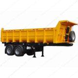 40m3 2 차축 덤프 또는 반 팁 주는 사람 트레일러 트럭 트레일러