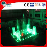 Plaza Rectangle LED Light Colorful Dancing Music Outdoor Fountain