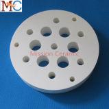1800c disco de cerámica de la pureza elevada Al2O3 99.7%