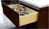 Gabinete de cozinha de laca de alto brilho (zz-061)