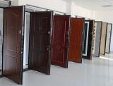 ガラスが付いている鋼鉄木の装甲ドア