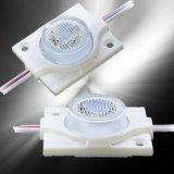 Ce RoHS Aprobado 3W 15*45° de la lente de la luz de señalización de alta potencia módulo LED con lentes para Lightbox
