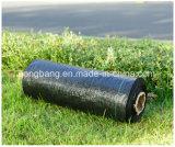 Poli agrícolas Manta de plantas daninhas Material Controle de plástico preto