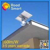 Lumière solaire de jardin de rue pour la lampe de 8W DEL avec la batterie de Li