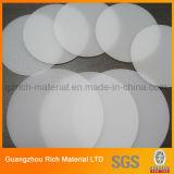 PS van het Blad/van de Verlichting van de Verspreider van 1.5mm de Ronde Plastic PS Plastic Raad van de Verspreider