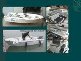 5mの中国を採取するための安いパンガ刀のボートのガラス繊維のボートは作った