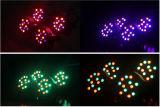 Iluminação de palco LED de LED de plástico barato