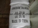 Chloride van uitstekende kwaliteit 99.5%Min van het Ammonium de Rang van het Voedsel