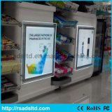 Atacado LED Crystal Slim Light Box Assinatura