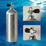 El tanque de aluminio del aire del salto pie del equipo de submarinismo cúbico de Alsafe 80 con la válvula de K