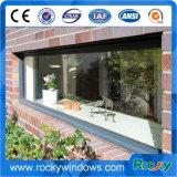 Утесистое окно панели алюминиевого профиля изоляции жары и воды фикчированное