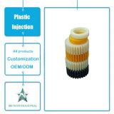 La máquina plástica modificada para requisitos particulares de las piezas de automóvil de los componentes de los productos de la inyección parte la rueda de engranaje plástica