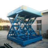 Voiture hydraulique Table élévatrice à ciseaux pour un garage