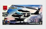 Block-Spielwaren des Polizei-Serien-Entwerfer-Patrouillen-Hubschrauber-76PCS