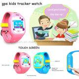 """1,0"""" сенсорный экран детский GPS Tracker смотреть с кнопку парового удара (D13)"""