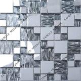 Estilo de Linha de grãos populares de aço inoxidável em mosaico mosaico de imagens em mosaico