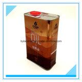 1litros Lata de metal_acondicionamento do azeite