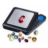 100g/0.01g高精度の小型ダイヤモンドの宝石類のポケットスケール