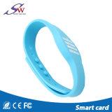 Fabrik-Produkt-Beispielerhältlicher Em4100 SilikonRFID Wristband