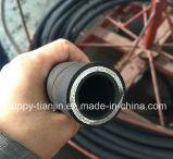 Cuatro espiral de alambre de la manguera hidráulica (R12)
