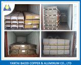 Placa de alumínio 6061 6082 T651