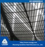 Blocco per grafici chiaro dello spazio di struttura d'acciaio per il tetto dell'ampia luce