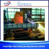 스테인리스 관과 사각 관 절단 경사지는 기계 CNC Plamsa 관 절단기 Kr Xf8