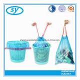 PET materieller bunter Plastikabfalldrawstring-Beutel