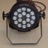 36*3W RGBW Водонепроницаемый светодиодный индикатор на стену