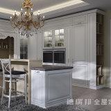 Hoog polijst de Moderne Keukenkasten van de Manier van het Meubilair van de Keuken Houten