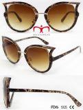 Neue Form-Frauen-Sonnenbrillen mit Cer FDA (WSP7091011)