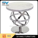クロム中国の家具の側面のコーヒーテーブル