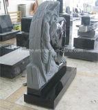 Engel van het Graniet van Shanxi de Zwarte met het Monument van het Hart