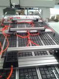 Macchina di legno del router di CNC con l'asse di rotazione girante per il portello di legno
