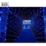 Luzes Twinkling da cortina do contexto da estrela do diodo emissor de luz que Wedding a decoração