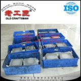 Plaques blanc cimentées du carbure EDM de tungstène élégant