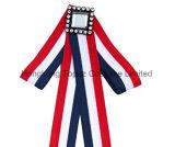方法女性は縞で飾ったネックレスのスカートの装飾の段階的装飾のちょうネクタイ(ET01)のためのダイヤモンドのBowknotを