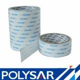 Le double acrylique dissolvant a dégrossi bande pour des plaques signalétiques de réservoir de toilette