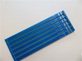Выборочный жесткий Gold печатной платы на базе Fr-4 с матовым синего цвета
