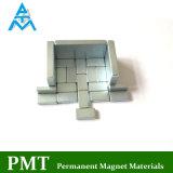 N35 20X10X4mm Block NdFeB Magnet mit Neodym-magnetischem Material