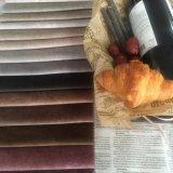 Polyester-Mikroveloursleder-Samt für Sofa-Möbel